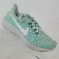 Nike Air Zoom Pegasus 35 Running Shoes Igloo Green AH3481-300 Youth Size 3 Y
