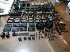 Non-Lego LOT of Bricks - Black Color 187 pieces - Check Below