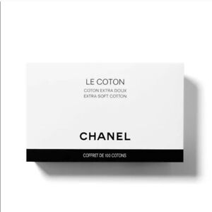 CHANEL Le Coton Extra Soft Cotton Pads (100 counts) NiB
