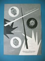 Publicite de Prensa Jaeger Lecoultre Reloj Mecanismo Ilustración Praquin