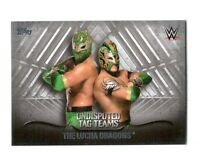 WWE The Lucha Dragons 2016 Topps Undisputed Tag Teams Parallel Card SN 31 of 50