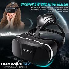 BlitzWolf BW-VR3 3D Video Virtual Reality Glasses Headset For 3.5-6.3'' Phone