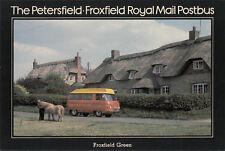 (20157) Postcard SEPR14 Petersfield Froxfield Postbus Royal Mail 1980 unused