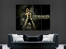 WIZ KHALIFA POSTER WALL ART PICTURE RAPPER IMAGE GIANT