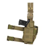 NcSTAR Universal Drop Leg Adjustable Tactical Pistol Holster TAN CVDLHOL2955T