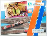 ROCO LINE Spur H0 42011 Ergänzungs-Set Gleis-Set C, 8 Gleise, OVP, lesen!