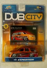 jada toys, DUB City 1:64 scale Ford Expedition multicolor die-cast