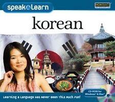 Speak and Learn Korean Win Xp Vista 7 8 10 Mac New Speak Korean right away!