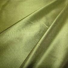 Prestige Green Silk Designer Curtain Fabric Roll £9.99 metre-140 cm Wide