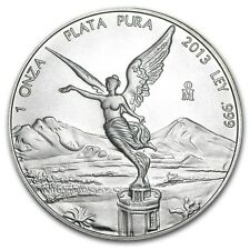 2013 1 oz Silver Libertad Coin  Brilliant Uncirculated