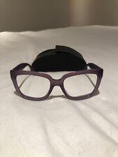 Prada Frames Purple 140 Women's