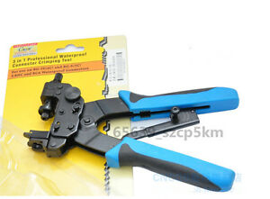 Compression Pliers Tool for F BNC RCA connector crimping tool RG-59 4C RG-6 5C