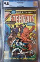 Eternals 1 Annual CGC 9.8 1st appearance of Tutinax White Pages 19 exist world