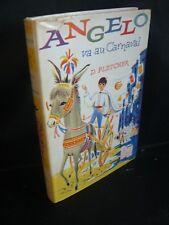 D. Fletcher: Angelo va au carnaval (ill de J. Daynié) coll Heures joyeuses 1958