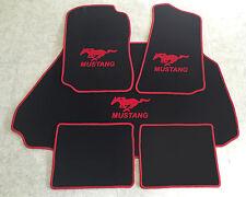 Autoteppich Fußmatten Kofferraum Set für Ford Mustang Cabrio rot 94-04 5tlg. Neu