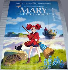 MARY & THE WiTCH'S FLOWER メアリと魔女の花 Yonebayashi japanimation LARGE French POSTER