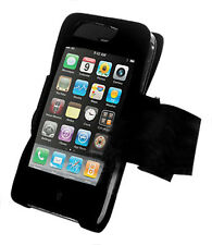Negro deporte brazalete Skin/case Para Apple Iphone 3gs De Reino Unido