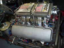 632 CU IN BB CHEVY DRAG RACE MOTOR COMPLETE ENGINE JESEL BILL MILLER MSD