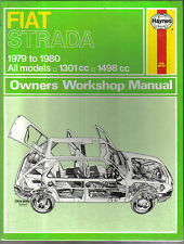 Fiat Strada Haynes Owners Workshop Manual 1301 & 1498cc 1979-1980