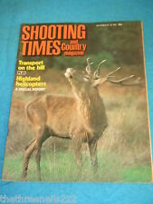 SHOOTING TIMES - HIGHLAND HELICOPTERS - SEPT 20 1984