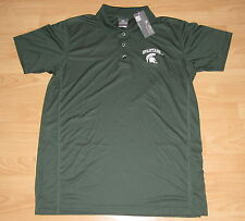 MICHIGAN STATE SPARTANS MSU GOLF POLO SHIRT MENS MEDIUM - EMBROIDERED LOGO