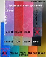 1 stick OYUMARU pour moulage réutilisable - FIMO - 12 couleurs au choix