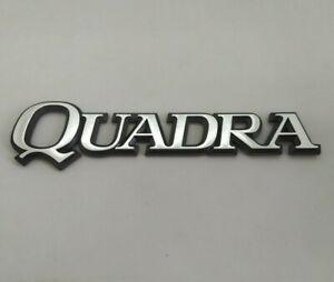 ⭐🇫🇷 NEUF MONOGRAMME QUADRA ALU RENAULT 21 R21 2L 2.0 TURBO 2 LITRES BADGE