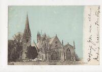 Llandaff Cathedral Cardiff 1904 Postcard 481a