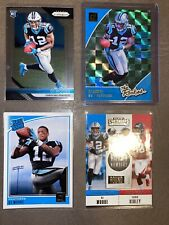 2018 Panini Prizm DJ MOORE RC #207 PANTHERS The ROOKIES rated Rookie RC Lot