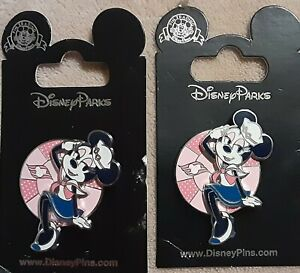 ( 2) Disney Cruise Line DCL Minnie Mouse Sailor Outfit Pin