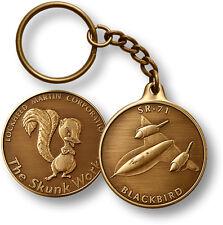 Lockheed Martin - Skunk Works / SR-71 Blackbird  - Challenge Coin Key Chain