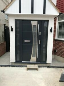 Brand New Composite Front Entrance Door Anti Theft Safety 100% 13s4 INOX