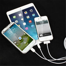 3in1 Set USB Sync Data Cable Charger 9inch White For iphone 5-6plus iPad Rope AU