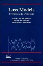 Loss Models : From Data to Decisions (Wiley Series in Probability and -ExLibrary