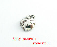 10pc Special Teacher Floating Charm for Living Memory Glass Locket Fc1515