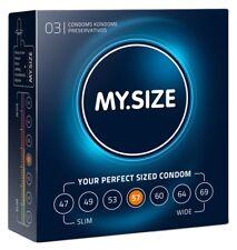 MY.SIZE 57 mm 3er Pack  Kondome