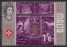 Malta 1965 - 70 QE2  1/-6d Self Government MM SG 342 ( J729 )