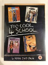 Napoleon Dynamite/Clueless/Mean Girls/Election [DVD] - New And Sealed. FreePost.