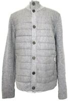 NEW, SARTORIAL GRAN SASSO MEN'S GRAY WOOL SWEATER JACKET, 52, $995