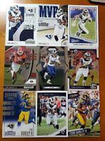 Todd Gurley - NICE 9 CARD LOT w Prizm & Optic Atlanta Falcons / Rams / Georgia