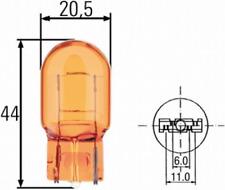 Glühlampe, Blinkleuchte für Signalanlage Hinterachse HELLA 8GP 009 021-002