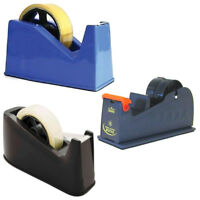 Tape Dispenser Heavy Duty Sellotape Cutter Holder School Equipment Office Crafts