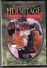 Hermitage Museum of St. Petersburg (DVD, 2001, 2-Disc Set) 18 episodes, 9 hrs