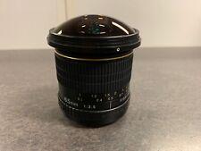 Opteka 6.5mm f/3.5 Fisheye CS Manual-Focus Lens (Nikon F Mount)