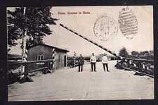 96586 AK Russische Grenze in Bisia Polen Schlagbaum Border to Canada