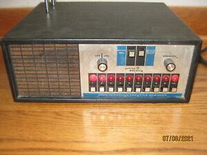 Vintage REGENCY Monitoradio Scanner Model ACT-E 10 H/L/U