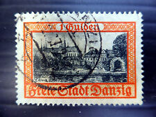 GERMANY DANZIG 1938 - 1G SG275 Fine/Used NEW LOWER PRICE FP4454