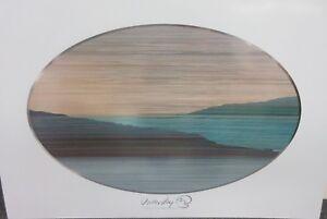 MARCUS UZILEVSKY - SEA OF GLASS-   RARE POSTER   1980   PERFECT
