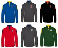 Majestic Men's 1/4 Zip Pregame Jacket