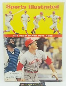 Sports Illustrated May 27 1968 Pete Rose Cincinnati Reds — Rose's First Cover